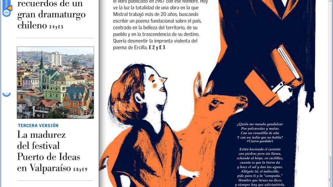 Poema De Chile La Odisea De Gabriela Mistral Por Juan